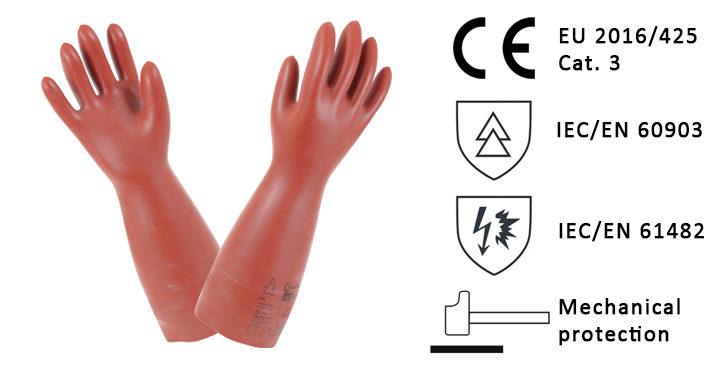 Insulating composite gloves